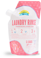 MyGreenFills Signature Scent Laundry Rinse Jug and Pouch