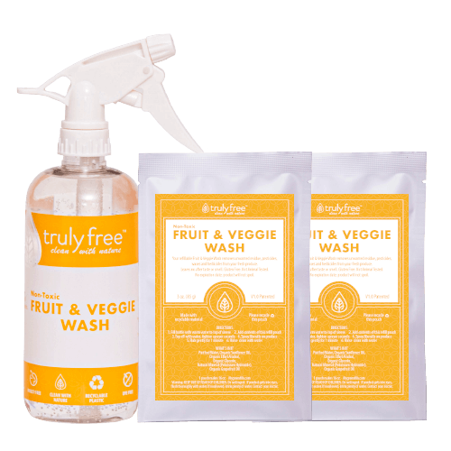 2 Pack Fruit and Veggie Wash