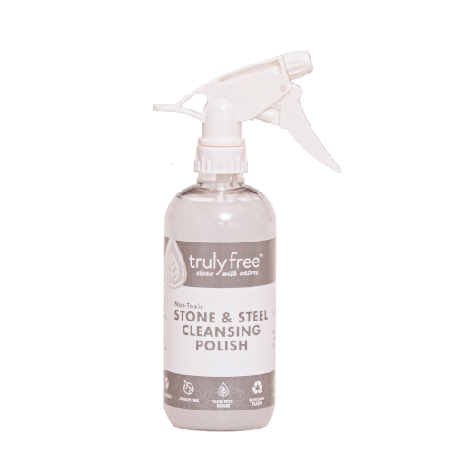 Stone and Steel Cleansing Polish Bottle