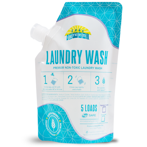 Unscented Laundry Wash Sample