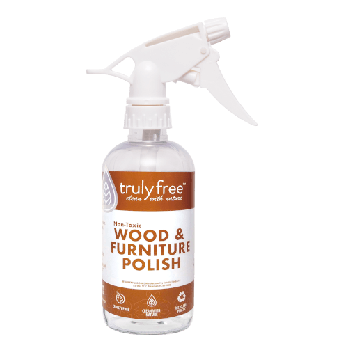 Wood and Furniture Polish Bottle
